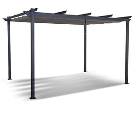 Altana Ogrodowa Aluminiowa Pawilon 300 x 300 cm Gazebo 112