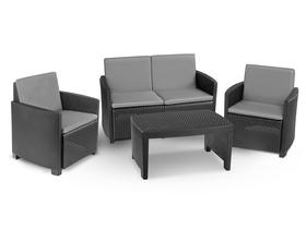 Zestaw Eden Sofa stolik kawowy 2 fotele