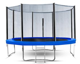 Trampolina ogrodowa Total Sport 374 cm 12 FT z siatką zewnętrzną