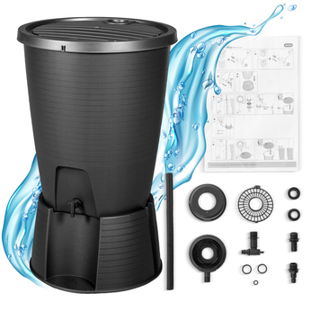 Zbiornik na wodę deszczówkę KETER 200 litrów ZESTAW