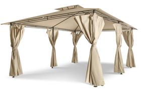 Namiot Pawilon Ogrodowy Altana Cristina 3x4m - kremowy