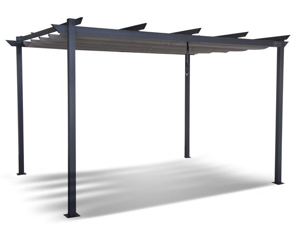 Altana Ogrodowa Pergola Aluminiowa 282 x 400 cm Gazebo 111 (1)