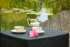 Zestaw ogrodowy Garden sofa box kawowy 2 fotele (4)