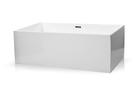 Wanna wolnostojąca biała akrylowa 170 x 80 cm + syfon SMART (1)