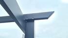 Altana Ogrodowa Aluminiowa Pawilon 300 x 300 cm Gazebo 112 (5)