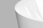 Wanna wolnostojąca biała owalna Akrylowa 170 x 74 cm + syfon OCTAVIA (8)