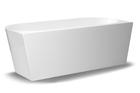 Wanna wolnostojąca biała akrylowa 170 x 75 cm przyścienna + syfon SWIM (2)