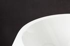 Wanna wolnostojąca biała akrylowa 170 x 75 cm przyścienna + syfon SWIM (6)