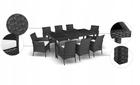 Zestaw Mebli Ogrodowych Rattanowych Bahama Set Max 8 Krzeseł EUROHIT Garden (5)