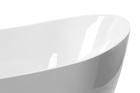 Wanna wolnostojąca biała owalna 170 x 80 cm + syfon MALTA (8)