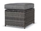 Meble ogrodowe KARA Sofa 2 technorattan sofa 2 fotele 2 pufy stół komplet mebli wypoczynek (4)