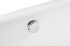 Wanna wolnostojąca 170 x 75 cm biała owalna akrylowa + syfon BARI (4)