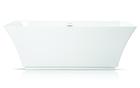 Wanna wolnostojąca biała akrylowa owalna 170 x 60 cm system przelewowy + syfon Grand (1)