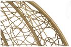 Fotel wiszący 2 osobowy Lilia natura/jasnoszary/antracytowy  (3)