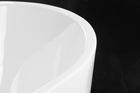 Wanna wolnostojąca biała akrylowa 170 x 80 cm system przelewowy owalna Comfort (9)